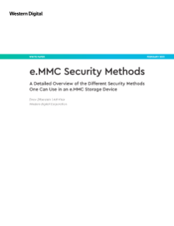 White Paper: e.MMC Security Methods